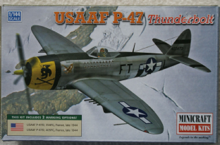 Minicraft 1/144 14670 Republic P-47D Thunderbolt